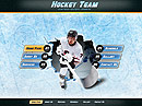 Hockey Team Easy flash templates