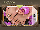 Nail Salon Easy flash templates