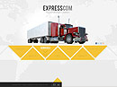 Express Delivery Cars web template