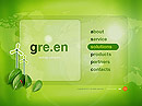 Green Energy - Easy flash templates, EASY FLASH website templates