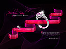 Jewelry Brand - Easy flash templates, EASY FLASH website templates