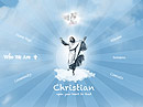 Christian Church - Easy flash templates, EASY FLASH website templates