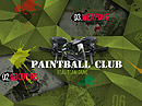 Paintball Club Dynamic Flash Template
