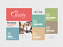 Charity Organization - Easy flash templates, SOCIETY FLASH website templates