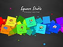Square Studio - Easy flash templates, EASY FLASH website templates