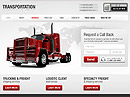 Transportation HTML template