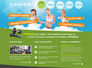 Fitness Club HTML template