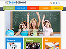 School HTML template