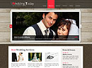 Wedding Planner - HTML template, WEDDING FLASH website templates