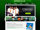 Sport Club - HTML template, HTML website templates