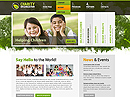 Charity Organization - HTML template, SOCIETY FLASH website templates