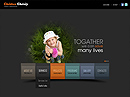 Charity - HTML5 templates, SOCIETY FLASH website templates