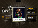 Singer Music HTML5 templates
