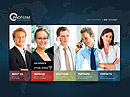 World Business HTML5 template