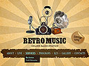 Retro Radio HTML5 templates