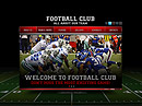Football Club HTML5 templates