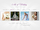 Wedding Planner - HTML5 templates, WEDDING FLASH website templates