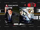 Driving School Cars web template