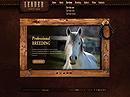 Horse Farm - HTML5 templates, Animals & Pets flash templates