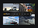 Transportation Cars web template