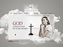Christian Church - HTML5 templates, RELIGION, RELIGIOUS FLASH website templates