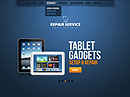 Repair Service - HTML5 templates, COMPUTING FLASH website templates