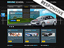 Driving School v3 Joomla template