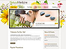 Natural Medicine - jQuery  flash templates