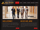 Lawyer Agency - jQuery  flash templates